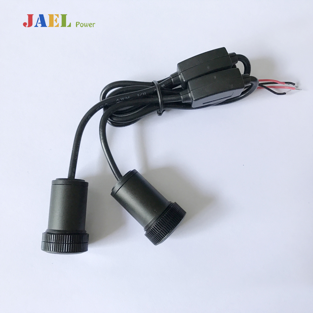 2PCs LED Door Ghost Shadow Light Courtesy Laser Projector Puddle lights Case For LEXUS Logo on the Ground