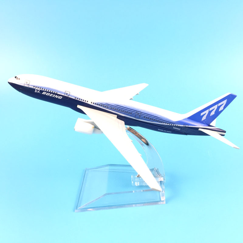 16cm Metal Aircraft Plane Model Air A380 Boeing 747 400 777 DHL Airbus Airplane Model Kids Toys W Stand Collection Gift Kids Toy
