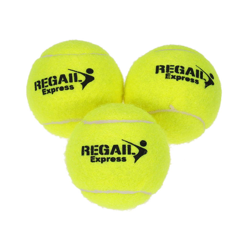 Tennis Training Ball High Resilience  Practice Durable Tennis Ball Training Balls For Beginners Competition 3PCS