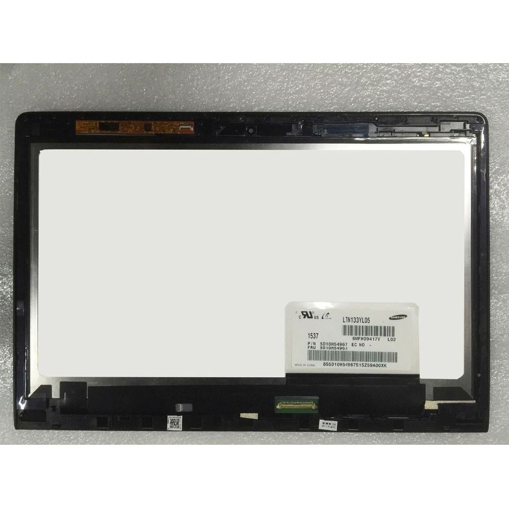 13 3 LCD LED Laptop Assembly For Lenovo Yoga 900 13ISK 80MK LCD Touch screen 3200X1800