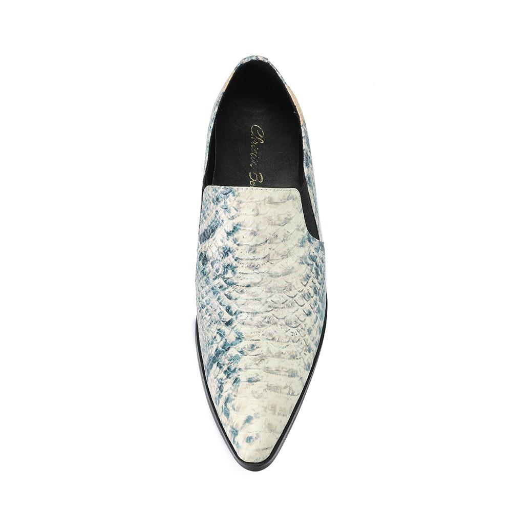 Véritable Cuir Robe Mode Partie Christia Formelle Italien Hommes Bout Chaussures Pointu Multi En Bella On Slip D'affaires fzTwRTHx