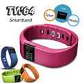 DHL TW64 Smartband Bluetooth Smart Watch Sports Bracelet Wristwatch Pedometer Call Reminder for Android IOS 6.1 Smartphone 10pcs