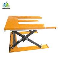 팔레트 로딩 장비 E 모양 가위 리프트 테이블
