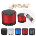 Portable Mini Bluetooth Speaker Wireless Music Player With MIC FM Radio Support TF SD Card For Tablet PC Phone Laptop MP3 MP4
