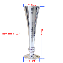 silver / white metal vasese 1032&1033  wedding&home decoration accessories vase  free shipping