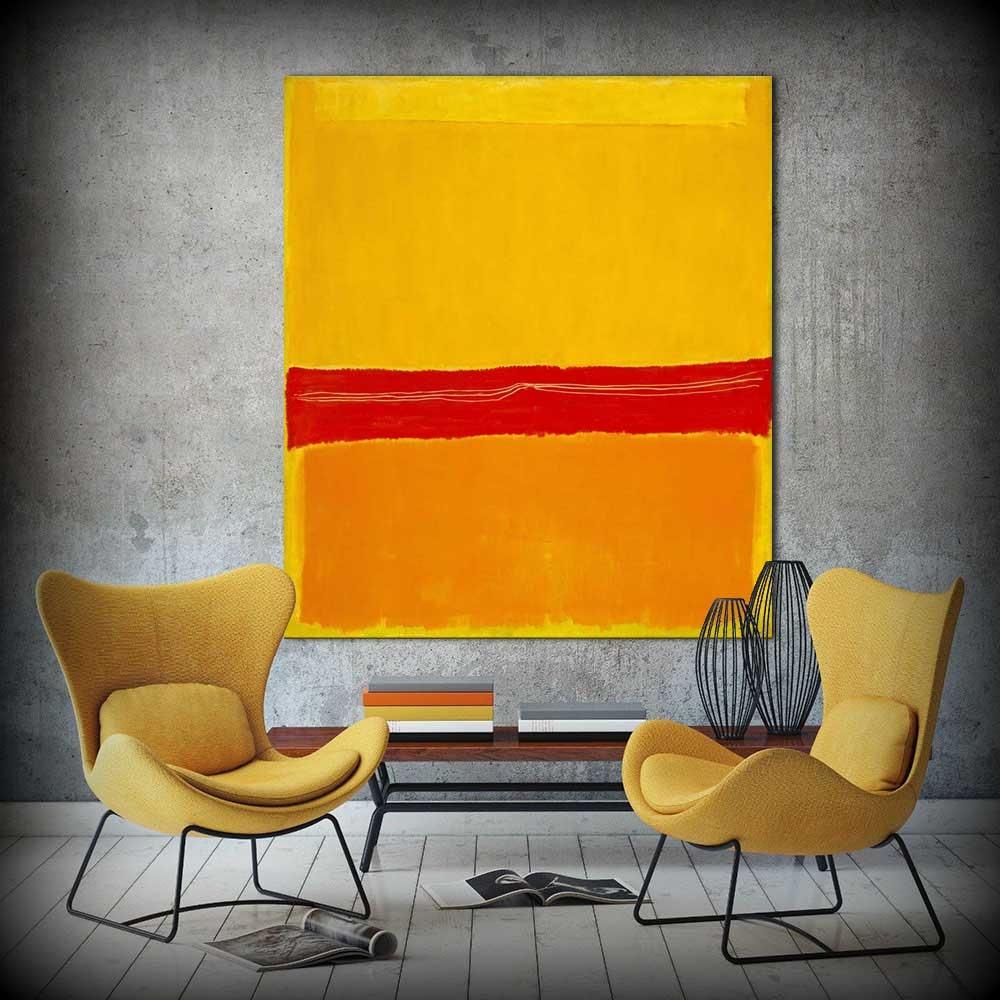 இFree Shipping Abstract Mark Rothko No.5 No. 22 and two works Oil ...