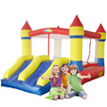 YARD Double Slide Inflatable Toys Kids Bounce House Jumping Castle with Blower Special Offer for Asia