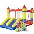Yard duplo slides brinquedos crianças casa do salto salto castelo inflável com blower oferta especial para a ásia