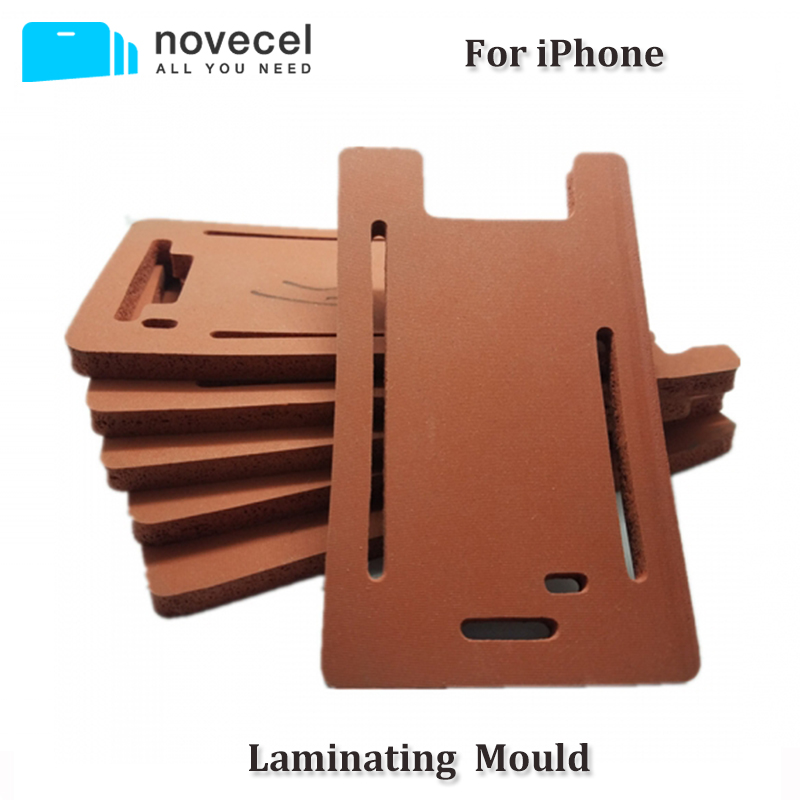 1pcs Rubber Mold Glass and LCD Laminating Mould With Frame Space For iPhone X 5G 5S 5C 6G 6S 6 Plus 6s Plus 7G 8G 7 plus 8 Plus image