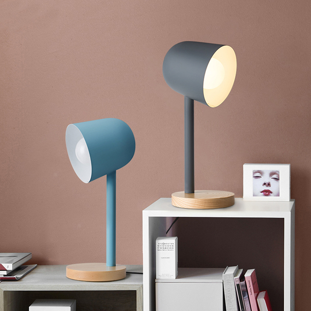 Nicola Modern wood Table Lamp For Living Room Contemporary Desk Lamp ...