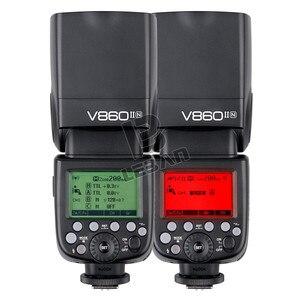 Image 5 - Godox ヴィング V860II V860II C/N/S/F/O TTL HSS 1/8000 スピードライトフラッシュキヤノンニコンソニー富士オリンパスデジタル一眼レフ VB 18 なしバッテリー