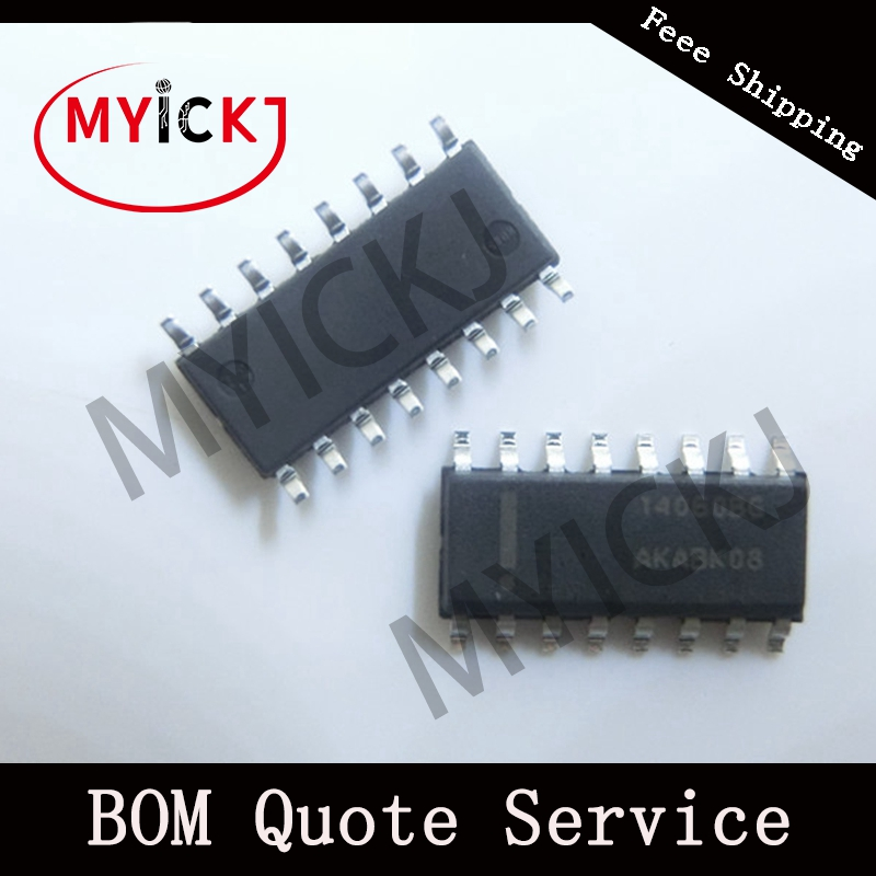 MC14060BDR2G  10PCS  SOP  IC CHIP    14-Bit Binary Counter And Oscillator 14060BG   SOP-16