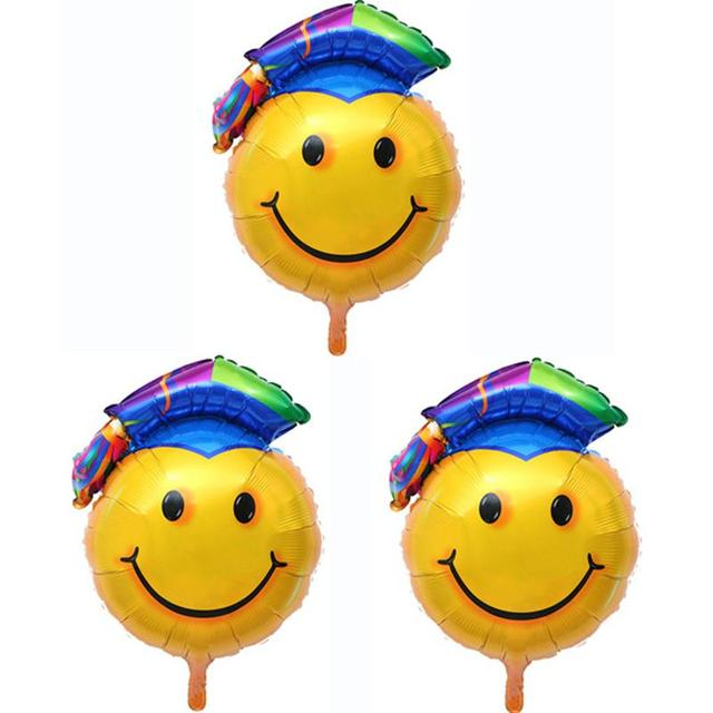 3 Pcs Graduation Ballloons