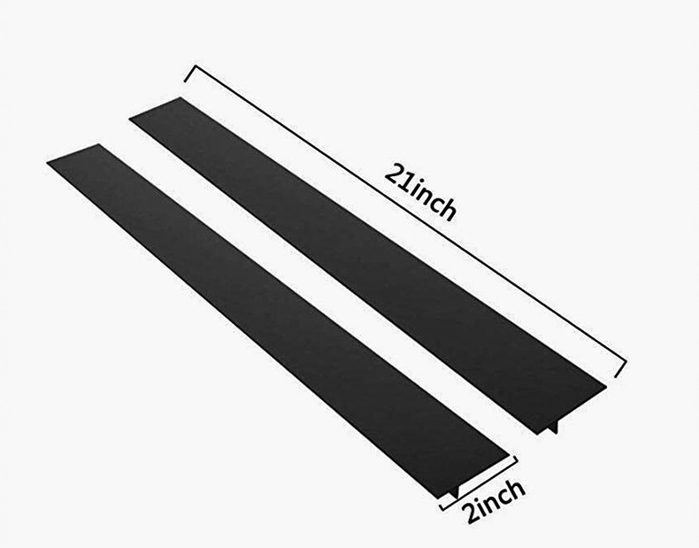 HTB1sDAVbEWF3KVjSZPhq6xclXXaF - Kitchen Silicone Stove Counter Gap Cover Set of 2 Heat Resistant Stove Gap Fillers Oil and Grease Proof Sealing Strip Stove-top