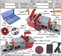 Nieuwe Model! DKJ-1000 Steen/Pearl/Amber/Hout Beades Graveren, Polijsten, Polijsten, Holing, snijden Multifunctionele Machine