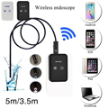 5m 9mm Lens for iOS Android Endoscope HD 720P 2.0MP Waterproof Tube Industrial Inspection Snake Video Camera