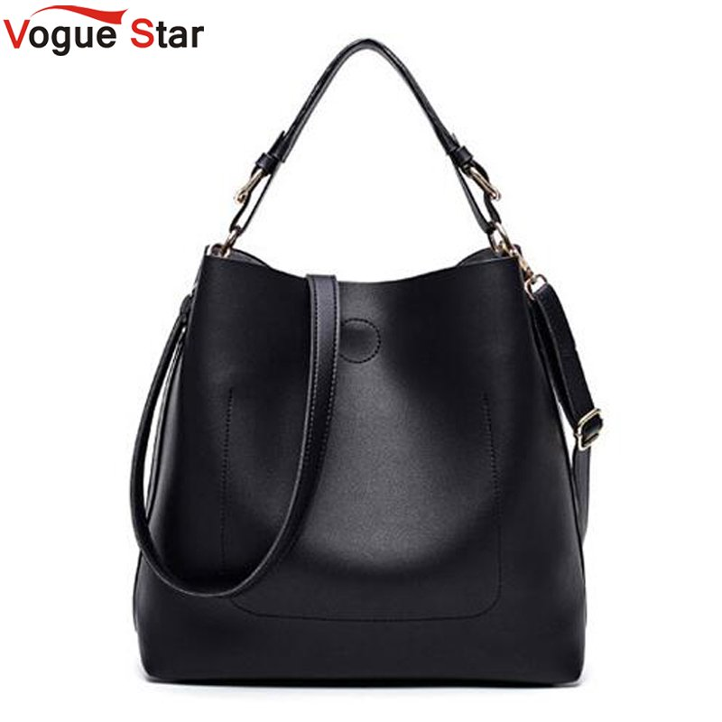 High Quality Leather Women Bag Bucket Shoulder Bags Solid Big Women Handbag Set Large Capacity Tote Bolsas Feminina Famous LB441 fashion women handbag pu leather women bag large capacity tote bag big ladies shoulder bags famous brand bolsas feminina