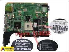 original mainboard 605698-001 board for HP pavilion dv7 dv7t dv7-3000 motherboard with GT320M system board 100% Test ok