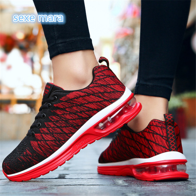 Size 36-45 2018 New Trend Sneakers woman men Outdoor Sport Shoes Men Women Sneaker Air Running Shoes Gym Shoes Athletic Trainers