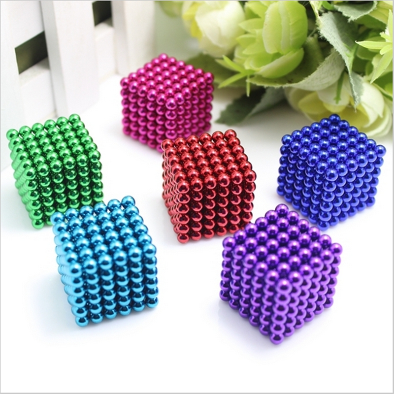 4mm 216pcs Vacuum D4 Metaball Magnetic Ball Magnet Neo Cube Magic Toy New Year Gift Christmas Magic Cube Vacuum package+Bag+Card