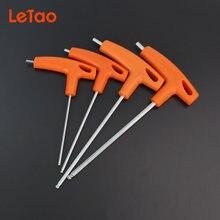 4 шт/компл ручные инструменты шестигранный ключ шаровая плоская