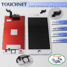 Free Shipping!100% No Dead Pixel!For iPhone 6S Plus LCD With Touch Digitizer Screen Assembly With Tools