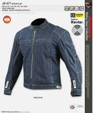 Ko mine JK-077 Kevlar denim veste avec protecteur moto veste racing veste