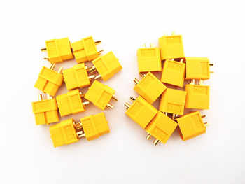 200pcs (100 Pairs) XT60 3.5mm Golden Connector LiPo Battery Plug Male & Female Connectors for for RC Quad - Category 🛒 Toys & Hobbies
