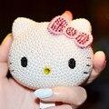 Перл Diamond Kitty Cat 8000 мАч Мобильный Портативный Источник Питания Банк Универсальный USB Зарядное Устройство Для iphone IOS Android Телефоны