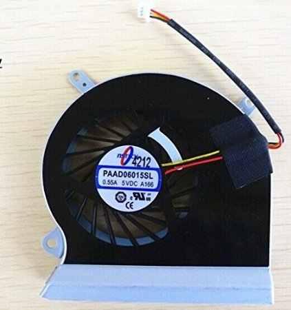 SSEA Neue original CPU Fan für MSI GE60 16GA 16GC serie E33-0800401-mc2 PAAD06015SL A166