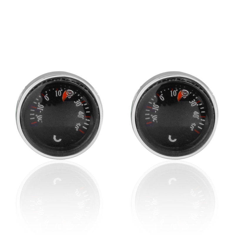 Luxury shirt car temperature meter Cufflinks brand Hipster Cufflinks For Men Gift for Husband Gift for High Quality Men Gift