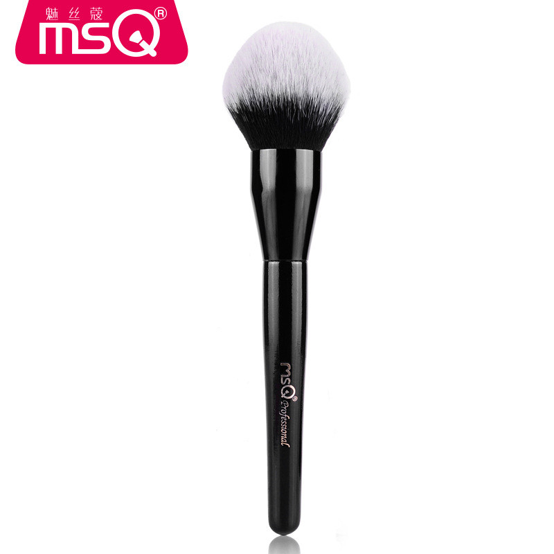MSQ Big Powder Makeup Brushes Powder Blending Uniform Brush Blusher Contour Make Up Brush Soft Goat Hair Beauty Make-up Tool h01 professional makeup brushes squirrel hair sokouhou goat hair powder brush walnut wood handle cosmetic tools make up brush
