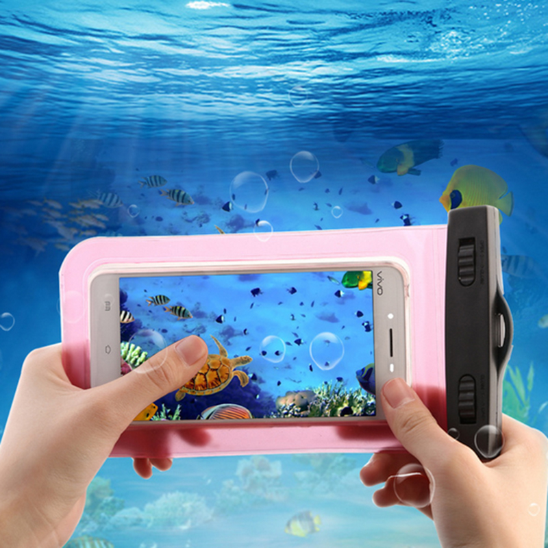 Sealed Waterproof Case Cover Bag Case Swimming Underwater Photo Dry Pouch Diving Drifting Fishing Camping Tool For Xiaomi Iphone
