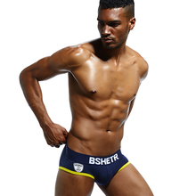 Super BSHETR Brand Men Underwear 1 Pcs/lot Sexy Men Briefs Cotton Mens Slip Cueca Male Panties Underpants Briefs Gay