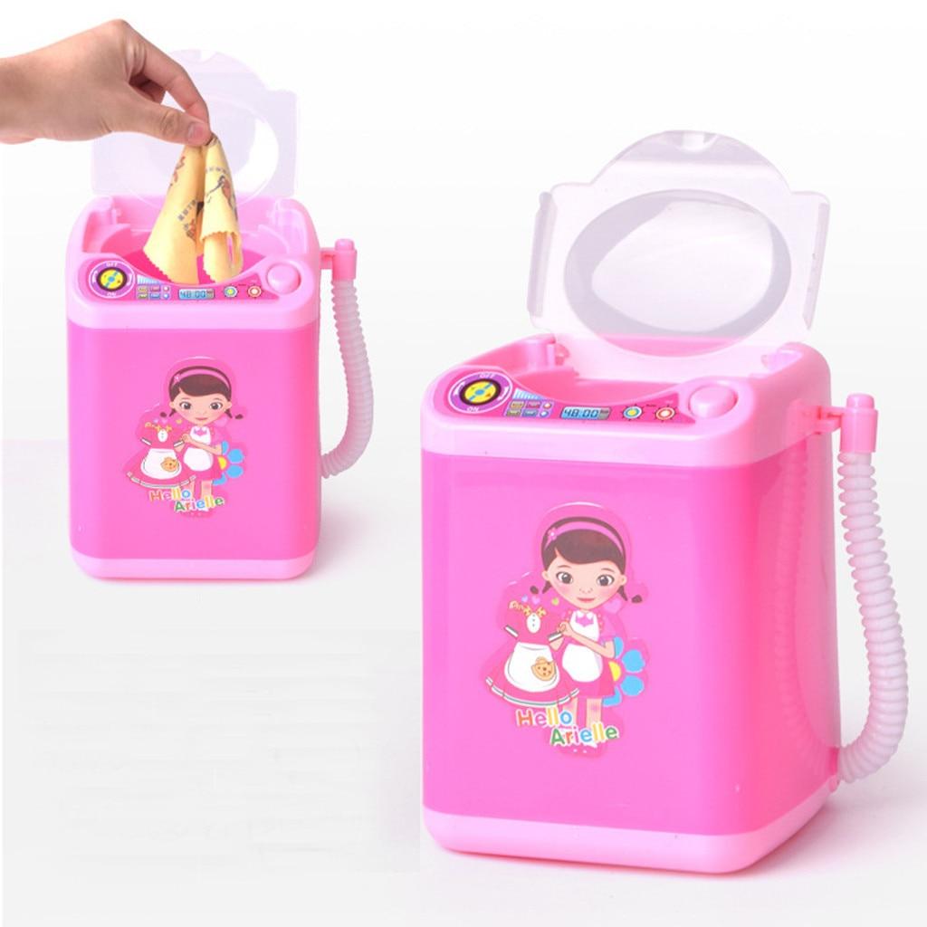 1 PC  Mini Cute Makeup Brush Washing Machine Brush Cleaner Device Automatic  Makeup Brushes Tool #YL5