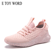 E TOY WORD Chunky Sneakers Woven Breathable Casual Shoes Autumn Light Comfortable women shoes Women Sneaker Tenis Feminino