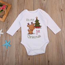 Kabeier Newborn Baby Rompers Spring Down Clothes Cartoon