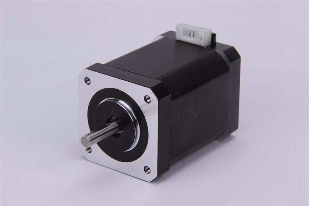 ФОТО Nema 24 Stepper Motor bipolar 2 phase 4 leads 65.5mm 12V 2.8A 2.2Nm(312oz.in) 3D Printer Motor
