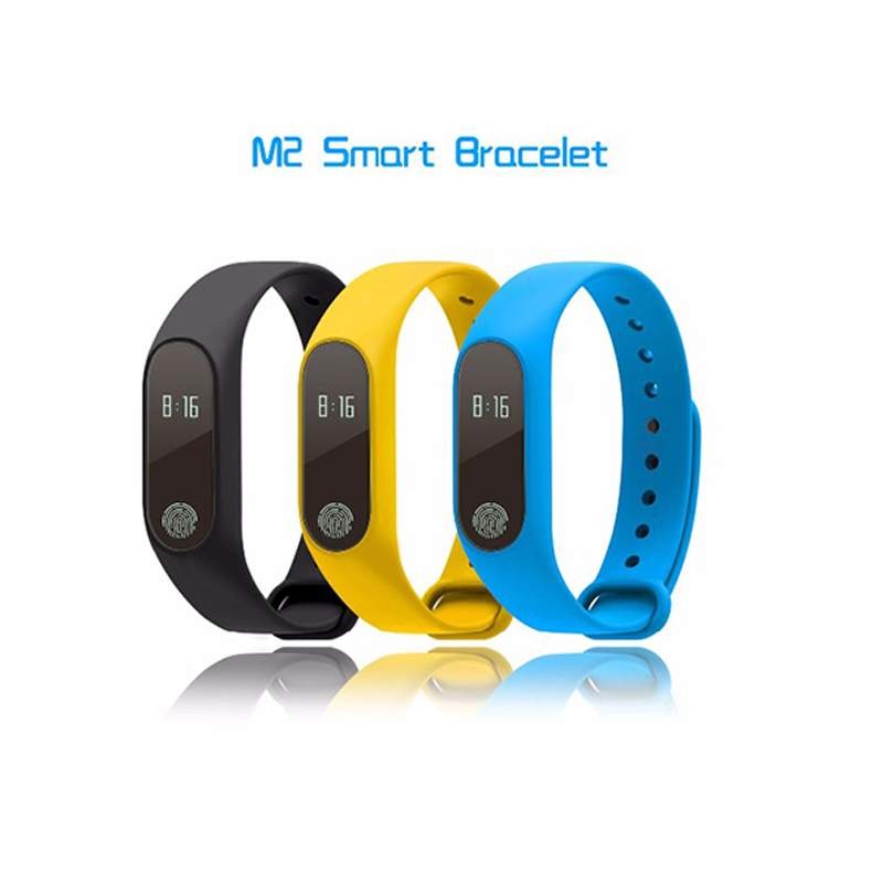 Image 5 - M2 Wristband Bracelet Smart Heart Rate Monitor Fitness Tracker Touchpad Bluetooth Smart band add a strap for Android iOS Iphone-in Remote Controls from Consumer Electronics