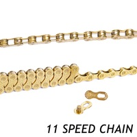 11s 22s 33s 11 Speed MTB Mountain Bike Road Bicycle Parts High Quality Durable Gold Golden