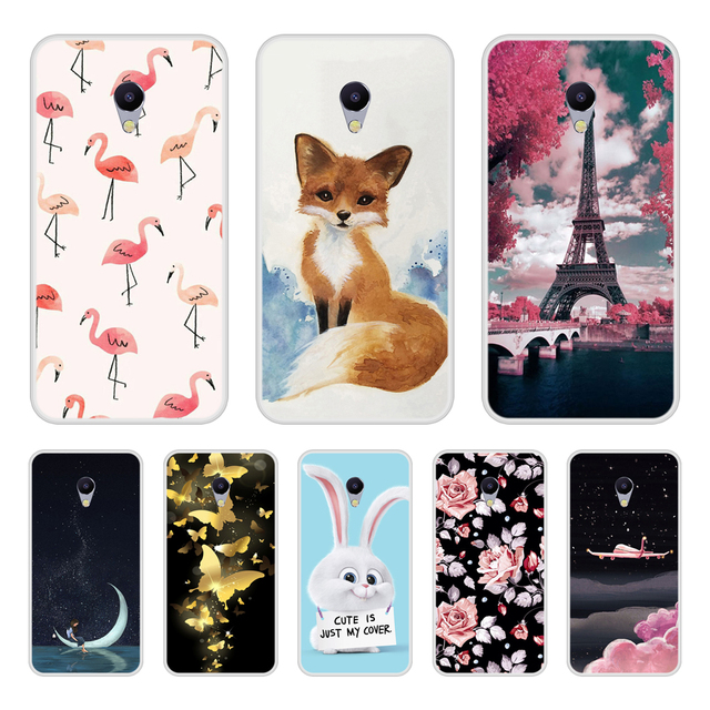 Case For Meizu M5s Soft Silicone TPU Cool Design Pattern Print Cover For Meizu M5s Phone Cases