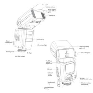 Image 4 - TRIOPO TR 960 II Flash Speedlite Speed Light Manual Zoom Speedlite Flash Light for Nikon Canon Pentax SLR Camera Flash Speedlite