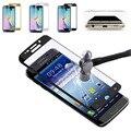 НА ПРОДАЖУ Для Samsung Galaxy S6 Edge Полное Покрытие Защитная Стекло-Экран Протектор Закаленное Стекло Pelicula De Видро Защита