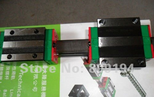100% genuine HIWIN linear guide HGR20-500MM block for Taiwan 100% genuine hiwin linear guide hgr20 400mm block for taiwan