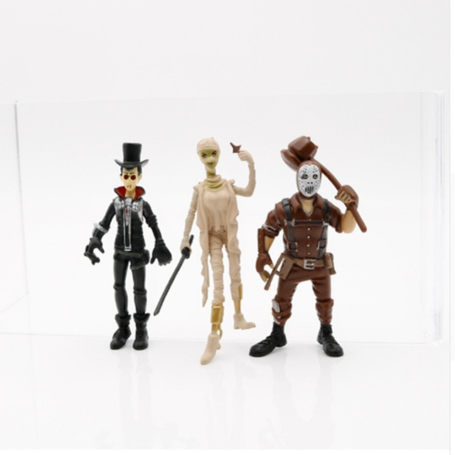 8pcs/set Fortnight Action Figure Toy 8-11.5cm Fortnight game Character PVC Action Figures Dolls Model Toy For children Gift 2