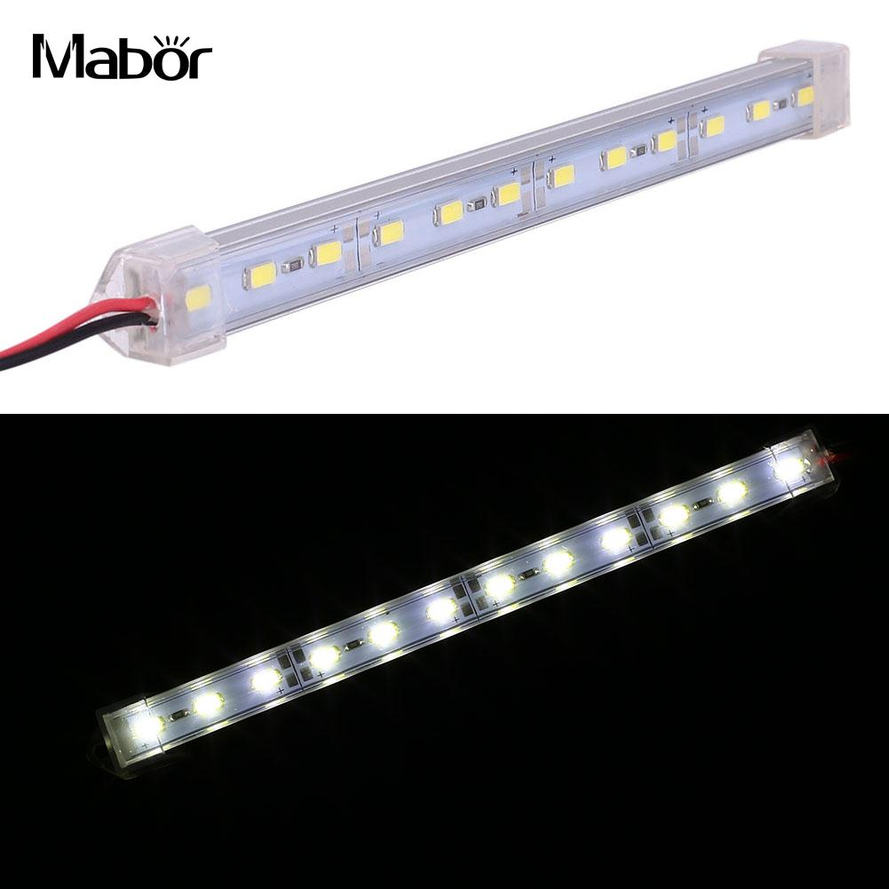 12led Smd 5630 Hard Rigid Tube Lamp Waterproof Ip44 Truck Light Waterproof Ip44 Truck Light Strips Lamps Lighting Fixturew Dc12v Diversified Latest Designs