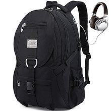 New High Quality Men Waterproof Travel Backpack Large Capacity Teenager Male Mochila Back Anti-thief Bag 17.3 Laptop
