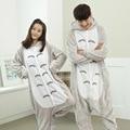 Panda Totoro Unisex Franela Con Capucha Pijamas Cosplay Animal Bodies Pijamas Para Hombres Mujeres Adultos onesie pijama