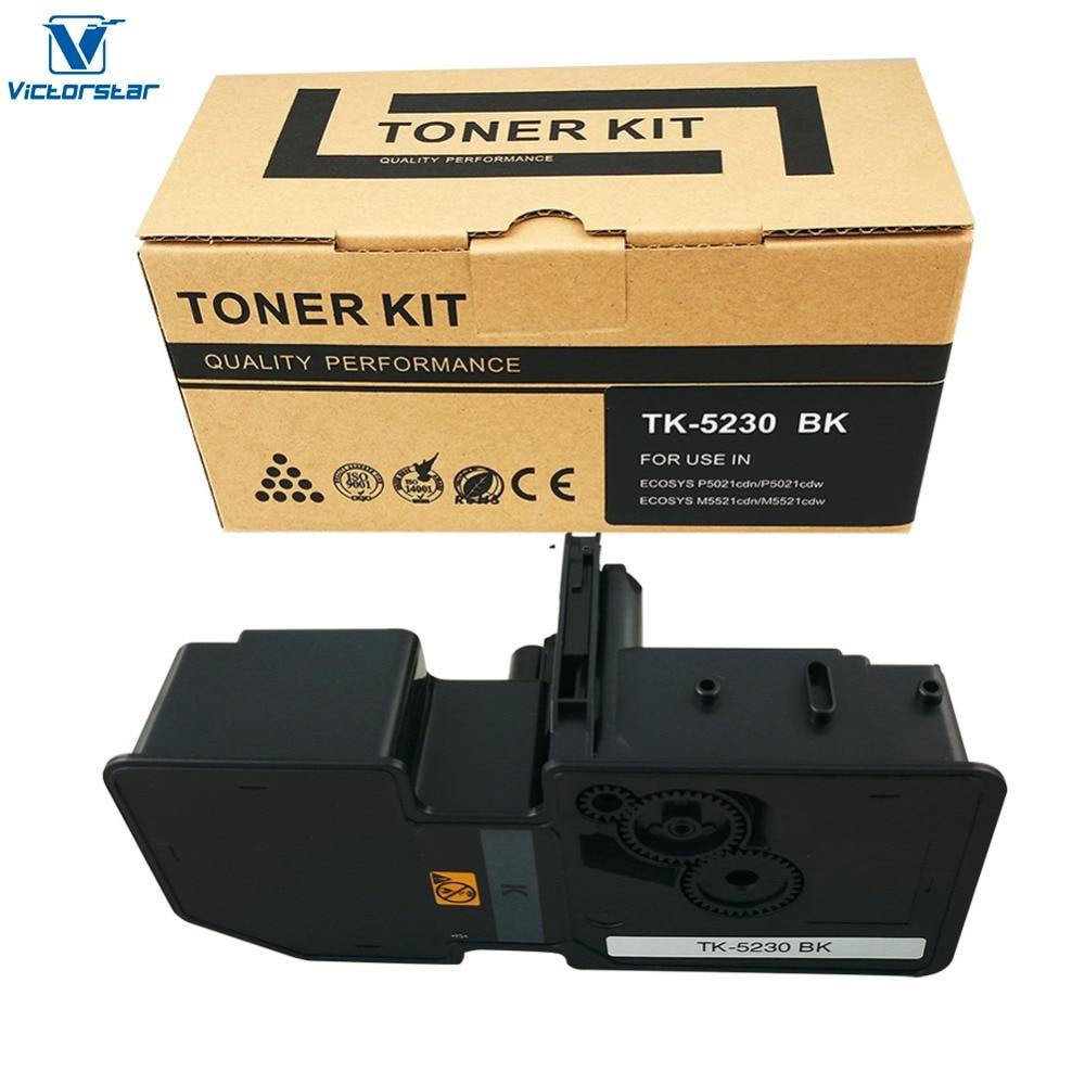 VICTORSTAR Compatible Toner Cartridges TK5230 / TK-5230 for Kyocera ECOSYS P5021cdn P5021cdw M5521cdn ECOSYS M5521cdw цена
