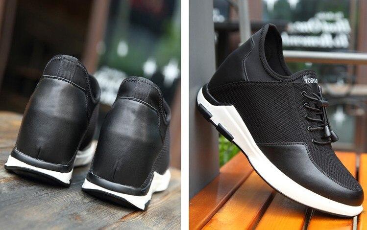Zapatillas Ascensor 10 Black Casual Verano Obtener Taller Cm Nuevo De Para About Niños Altura 8 Transpirables Cómodo La Los black Cm hombres Aumento Zapatos xUpxt6